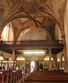 Interiér kostela během Noci kostelů (Foto M.Polák, 2020)