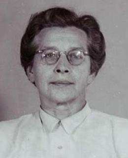 Milada Horáková, vazební fotografie