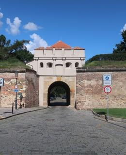 Táborská brána (Foto M. Polák, červenec 2020)