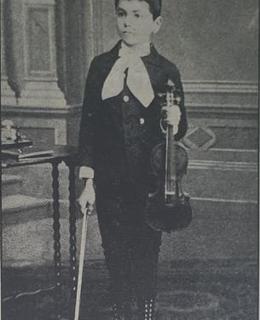 Jan Kubelík, 10 let