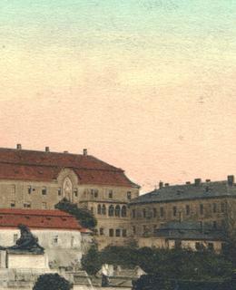 Pohled na klášter (archiv)