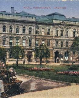 Původní budova radnice