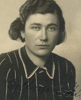 Zdeňka Kolbenová (zdroj: Holocaust.cz)