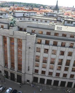 Budova ČNB (Foto M. Polák, 2012)