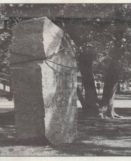 Maketa pomníku (Zdroj: Zprávy Společností bří Čapků, foto R. Portel)