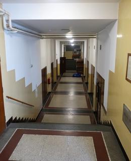 Schody k malému sálu a posilovně (Foto M,. Polák, 2020)
