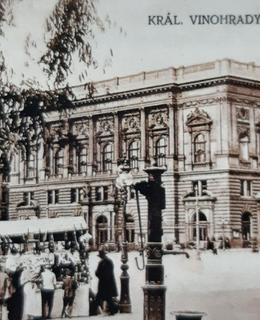 Přibližně v těchto místech stávala ještě na konci 19. století Konstantinka (archiv Milpo)