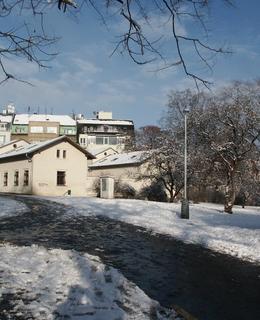 Horní Landhauska v zimě 2005 (Foto M. Polák)
