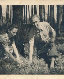 Karel a Anděla (manželka) Evaldovi