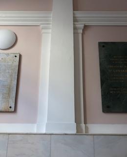 Umístění desek na schodišti (Foto M. Polák, 2020)
