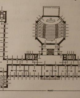 Půdorys ústavu r roku 1923 (Zdroj: MČ Praha 2)