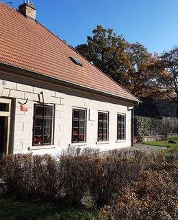 Bosovaný vchod a okno (Foto D. Broncová, listopad 2020)