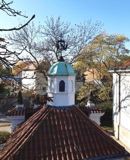 Kostel Panny Marie Šancovské z hradeb (foto D. Broncová)