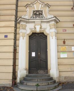 Vchod ze Sudničkovy ulice (Foto M. Polák)