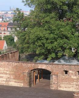 Vyšehradský redan (Foto M. Polák, 2020)