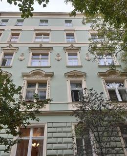 Místo Karlovky je dům v Americké 78/32 (foto D. Broncová)