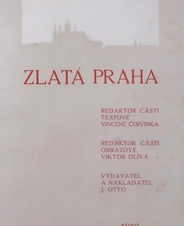 Titulní list Zlaté Prahy