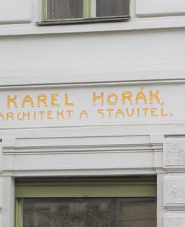 Dům K. Horáka v Římské ul. Foto: P. Líbal