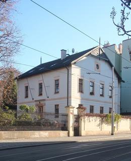 Budova bývalé vrátnice (Foto M. Polák, 2020)