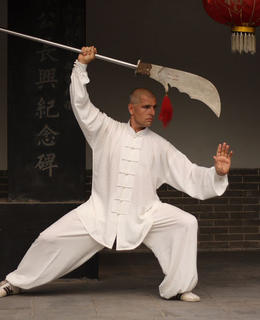 V roce 2008 v Chenjiagou (soukromý archiv)