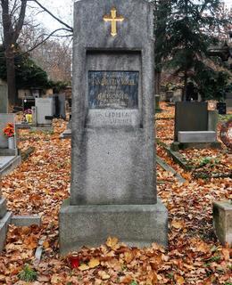 Olšanský hrob J. E. Vocela (Foto M. Polák, prosinec 2020)