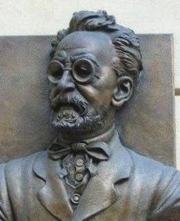 Busta J. Fanty ve Sněmovní ulici