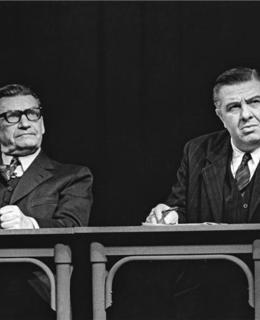 Č. Řanda, Čolvěk odjinud (1973), Foto J.Svoboda, archív ND