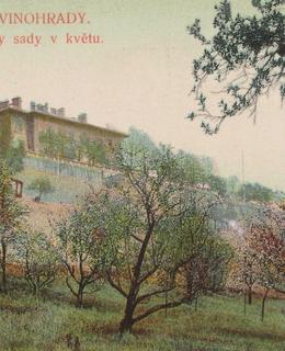 Původní altán na dobové pohlednici