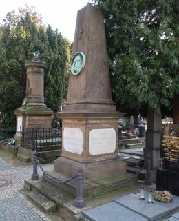 Hrob rodiny Braunerovy (Foto M. Polák, 2020)