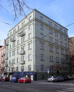 Nárožní dům U Kanálky 1 (Foto M. Polák, leden 2021)