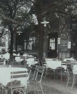 Restaurace s kavárnou v roce 1905