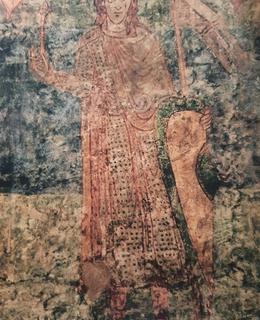 Vratislav I. – nástěnná malba v rotundě ve Znojmě