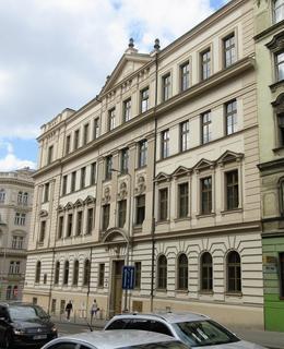 Českoslovanská obchodní škola (Foto M. Polák, 2018)