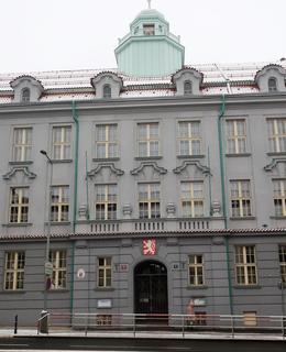 Tříosý rizalit s portálem (Foto M. Polák, 2021)