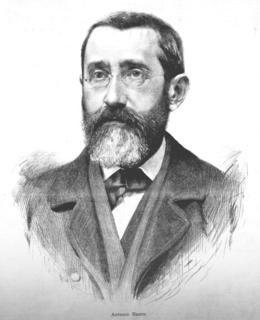 Architekt Antonín Baum, kresba J. Vilímek
