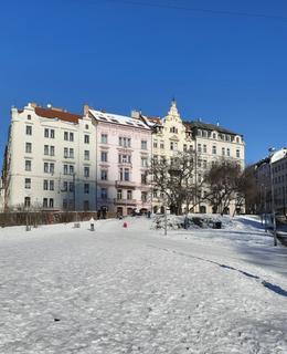 Zimní pohádka v únoru 2021. Foto Dagmar Broncová