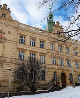 Škola v Kladské (Foto M. Polák, únor 2021)
