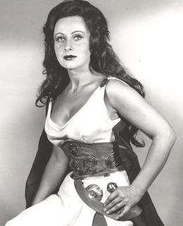 L. Márová v opeře Šárka od Zdeňka Fibicha, 1969-1971 (soukromý archiv)