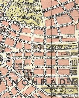 Ulice Ve Strosce, jak se dříve jmenovala