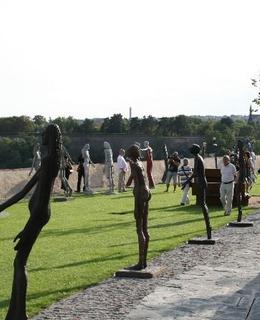 Výstava O. Zoubka na Bastionu, 2012. Zdroj MČ Praha 2