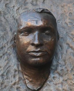 Odlitek posmrtné masky J. Palacha. Foto M. Polák