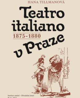 Obálka knihy pojednávající o divadelní aréně Teatro salone italiano