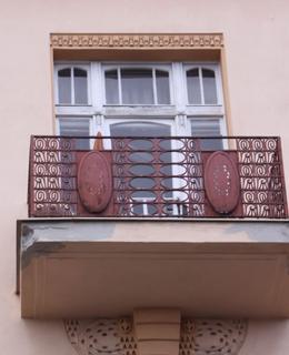 Dům Kladská čp. 1462/3, detail. Foto: P. Líbal