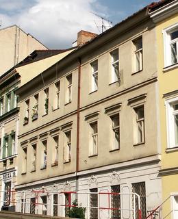 Dům před rekonstrukcí na forografii z roku 2007 (Foto M. Polák)
