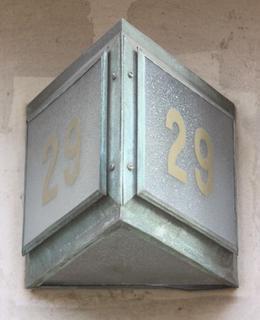 Ječná 529/29, detail. Foto P. Líbal.