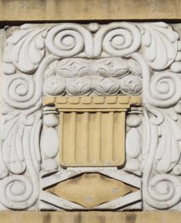 Dům Anglická 391/17, detail. Foto P. Líbal