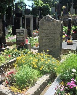 Hrob rodiny Biliánových (Foto M. Polák, červen 2021)
