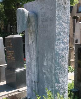 Hrob Jiřího Adamíry (Foto M. Polák)
