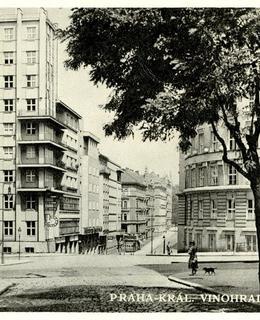 Hasičský dům, pohlednice