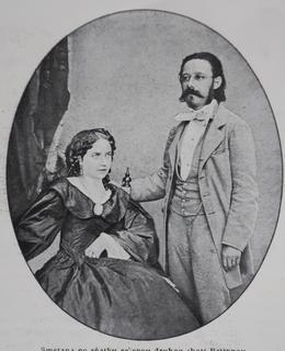 Smetanova druhá žena (Archiv MILPO)